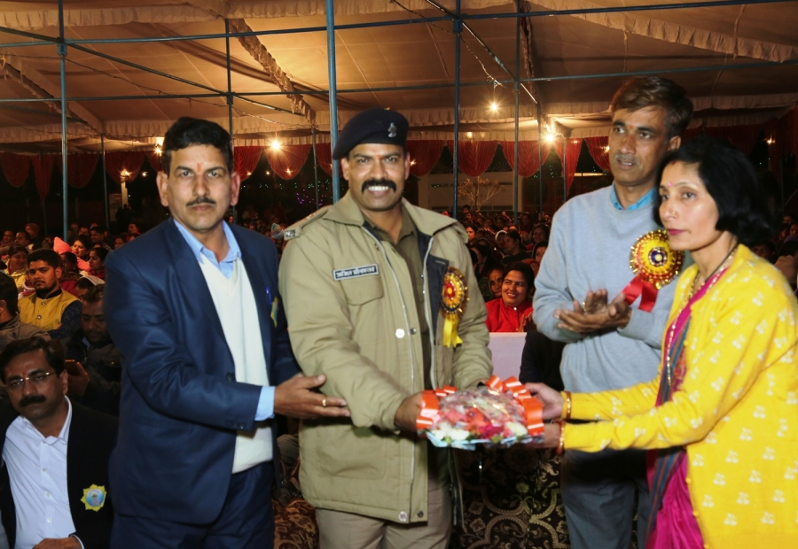 bouquet Given to Chief Guest