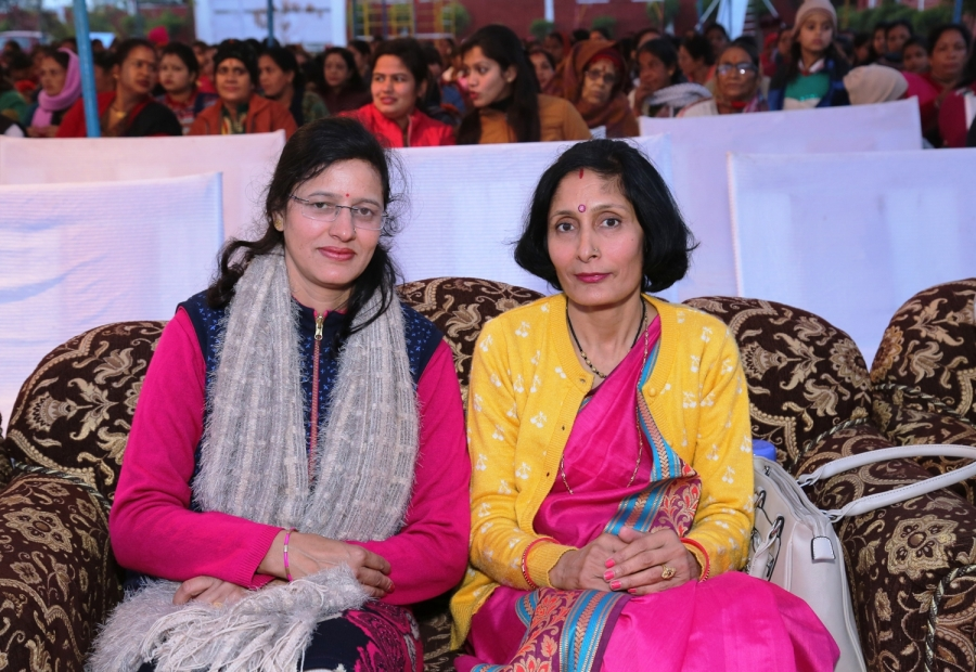 Principal Mam with guest